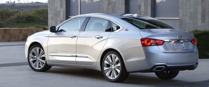 2018 Chevrolet Impala exterior rear