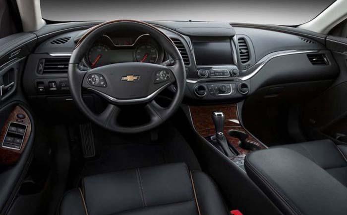 2018 Chevrolet Impala interior daskboard