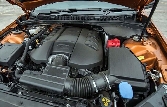 2018 Chevy El Camino SS engine