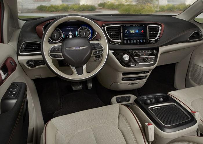 2019 Chrysler Pacifica Interior Design