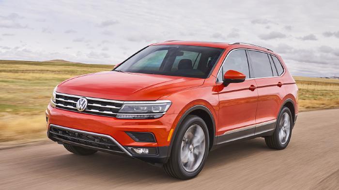 2018 Volkswagen Tiguan LWB Release Date