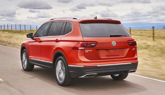 2018 Volkswagen Tiguan LWB Spec