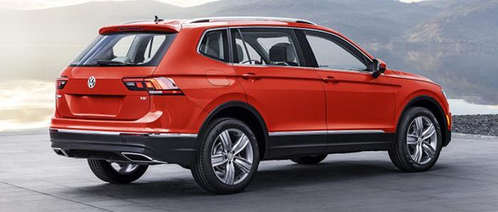 2018 Volkswagen Tiguan Price
