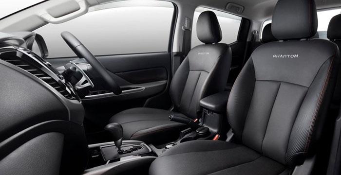 Mitsubishi GR-HEV Interior