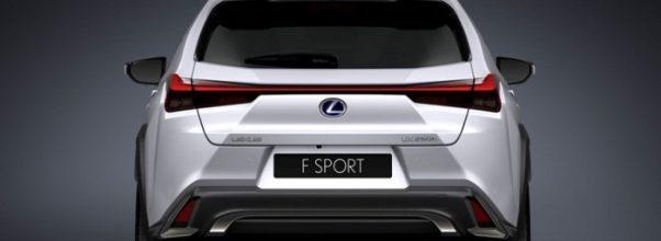 new 2019 Lexus UX rear