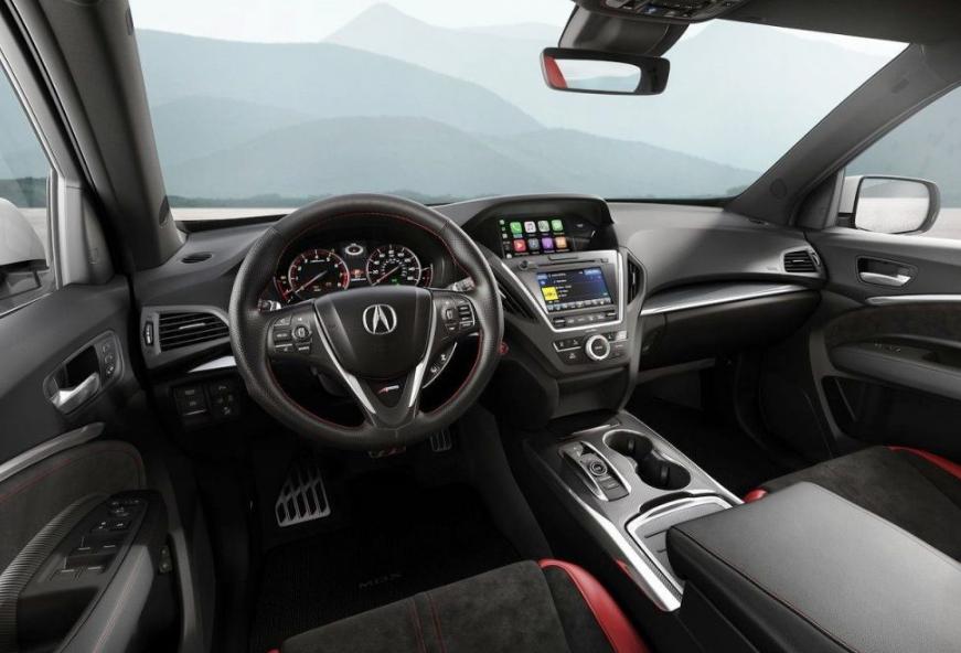 2020 Acura TL Interior
