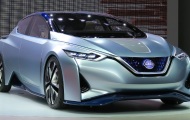 2020 Nissan LEAT Electric Redesign