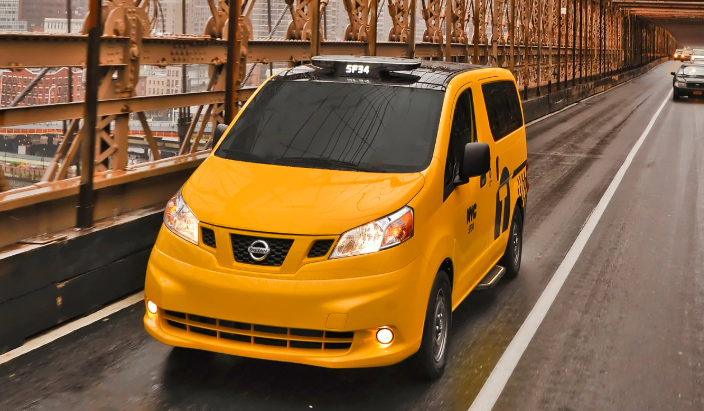 2020 Nissan NV200 Taxi Redesign